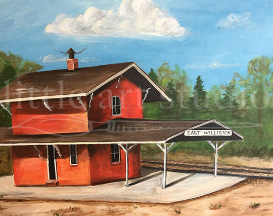 East Williston Train Station