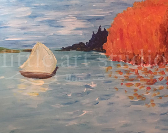 Sailboat in Autumn