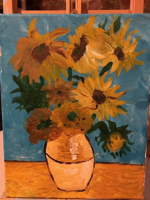 Sunflower- Van Gogh